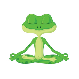 Studio Partner: Green Frog Yoga Logo